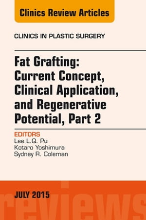 Fat Grafting: Current Concept,  Clinical Application,  and Regenerative Potential,  PART 2,  An Issue of Clinics in Plastic Surgery,