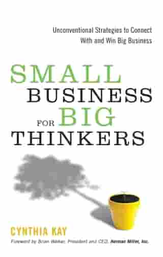 Small Business for Big Thinkers: Unconventional Strategies to Connect With and Win Big Business by Cynthia Kay