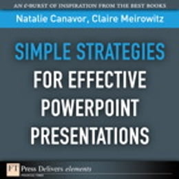 Book Simple Strategies for Effective PowerPoint Presentations by Natalie Canavor