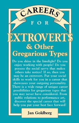 Book Careers for Extroverts & Other Gregarious Types by Goldberg, Jan