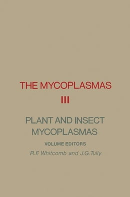 Book The Mycoplasmas V3: Plant and Insects Mycoplasmas by Whitcomb, R.F.
