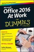 Office 2016 at Work For Dummies Deal