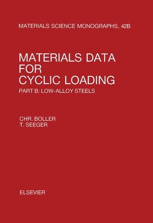 Materials Data for Cyclic Loading: Low-Alloy Steels
