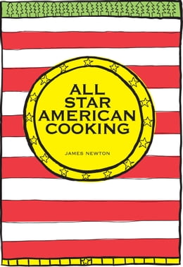 Book All Star American Cooking by James Newton