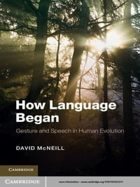 How Language Began: Gesture and Speech in Human Evolution
