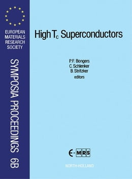 Book High Tc Superconductors: Preparation and Application by Bongers, P. F.
