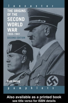 Book The Origins of the Second World War 1933-1941 by Henig, Ruth
