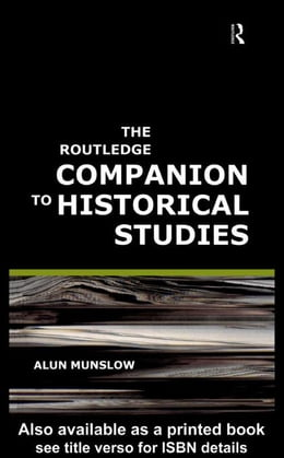 Book The Routledge Companion to Historical Studies by Munslow, Alun