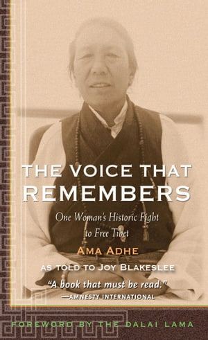 The Voice that Remembers One Woman's Historic Fight to Free Tibet