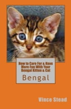 How to Care For & Have More Fun With Your Bengal Kitten & Cat by Vince Stead
