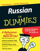 Russian For Dummies by Nina Wieda
