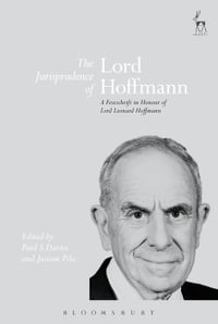 The Jurisprudence of Lord Hoffmann: A Festschrift in Honour of Lord Leonard Hoffmann