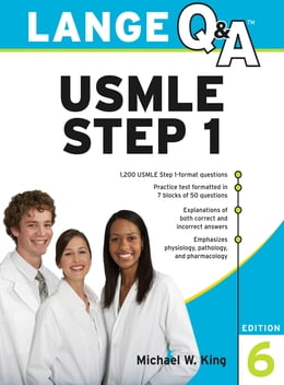 Book Lange Q&A USMLE Step 1, Sixth Edition by Michael King