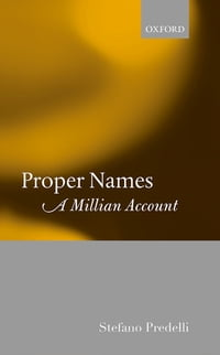 Proper Names: A Millian Account