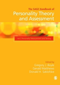 The SAGE Handbook of Personality Theory and Assessment: Personality Measurement and Testing (Volume…