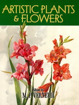 Book Artistic Plants and Flowers by M. P. Verneuil