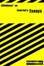 CliffsNotes on Emerson's Essays by Gregory Tubach