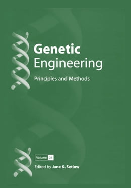 Book Genetic Engineering: Principles and Methods by Jane K. Setlow