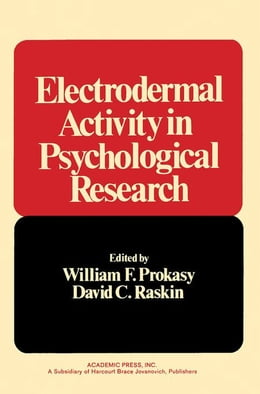 Book Electrodermal Activity in Psychological Research by Prokasy, William