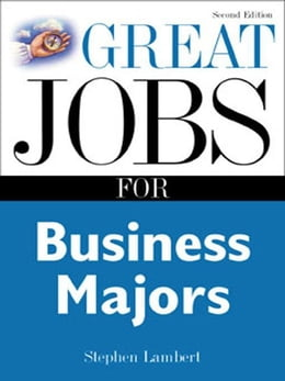 Book Great Jobs for Business Majors by Lambert, Stephen