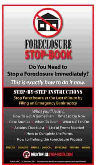 Foreclosure Stop-Book: Exactly How to Stop Foreclosure at the Last Minute by Oscar Morante