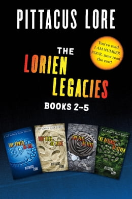 Book The Lorien Legacies: Books 2-5 Collection: The Power of Six, The Rise of Nine, The Fall of Five… by Pittacus Lore