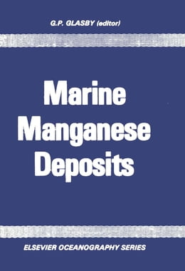 Book Marine Manganese Deposits by Glasby, G.P.
