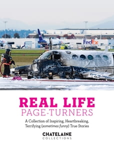 Real Life Page-Turners: A Collection of Inspiring, Heartbreaking, Terrifying (sometimes funny) True…