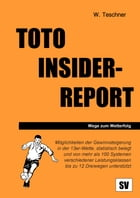 Toto Insider-Report by Wolfgang Teschner
