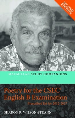 Book Macmillan Study Companions: Poetry for the CSEC® English B Examination (Prescribed List for 2012… by Strann, Sharon Wilson