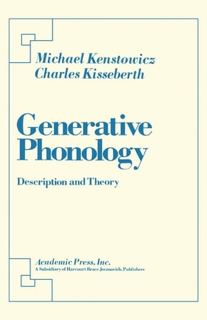 Generative Phonology: Description and Theory