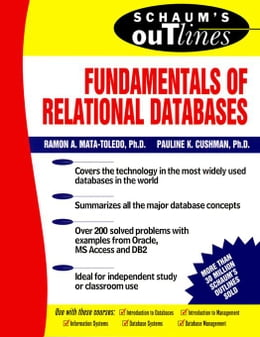 Book Schaum's Outline of Fundamentals of Relational Databases by Mata-Toledo, Ramon