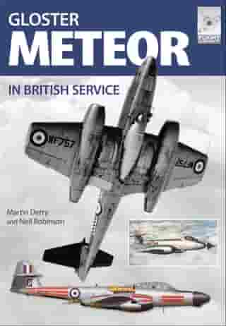 Gloster Meteor in British Service by Martin Derry