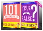 The Goldfinch - 101 Amazing Facts & True or False?: Fun Facts and Trivia Tidbits Quiz Game Books by G Whiz