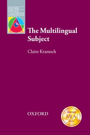 The Multilingual Subject - Oxford Applied Linguistics