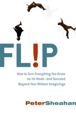 Book Flip: How Counter-Intuitive Thinking is Changi by Peter Sheahan