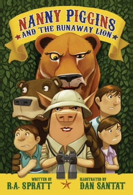 Book Nanny Piggins and the Runaway Lion by Dan Santat