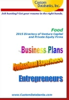 Food 2015 Directory of Venture Capital and Private Equity by Jane Lockshin