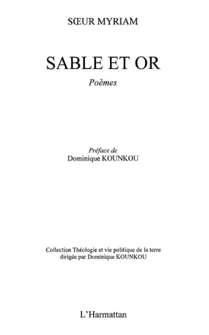 Sable et or by Soeur Myriam