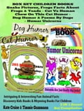 Box Set Set Children's Books: Snake Picture Book - Frog Picture Book - Humor Unicorns - Funny Cat Book For Kids Dog Humor dcbbf68b-14de-4188-a8f6-330302f004c7