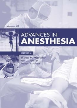 Book Advances in Anesthesia by Thomas M. McLoughlin