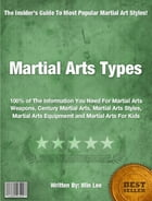 Martial Arts Types by Min Lee