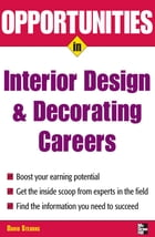 Opportunities in Design and Decorating Careers by David Stearns