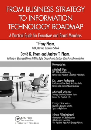 From Business Strategy to Information Technology Roadmap A Practical Guide for Executives and Board Members