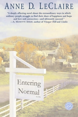 Book Entering Normal by Anne Leclaire