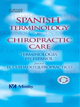 Book Spanish Terminology for Chiropractic Care by Mosby