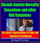 Chronic Anxiety Unreality Sensations and other Odd Symptoms: The Bizarre Manifestations of Panic and Disordered Anxiousness by James Lowrance