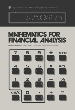 Mathematics for Financial Analysis