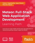 Meteor: Full-Stack Web Application Development by Fabian Vogelsteller