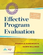 Effective Program Evaluation by Mardale Dunsworth